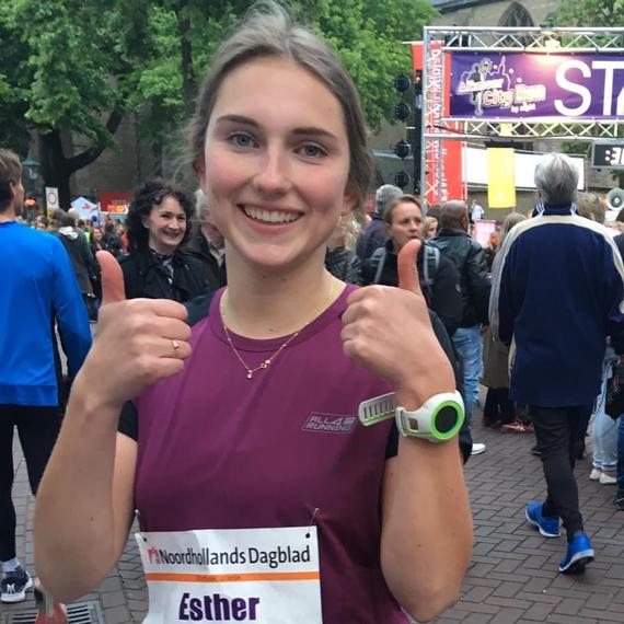 Esther rent tegen kanker