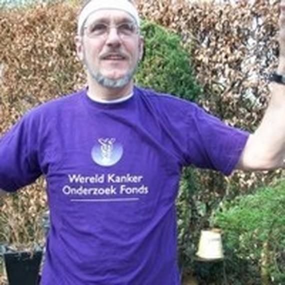 Ton Brouwer helpt mee! Kom, doe ook mee om kanker te bestrijden!