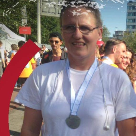 Elles van Dillen rent de hele NN Marathon Rotterdam! Kom in actie