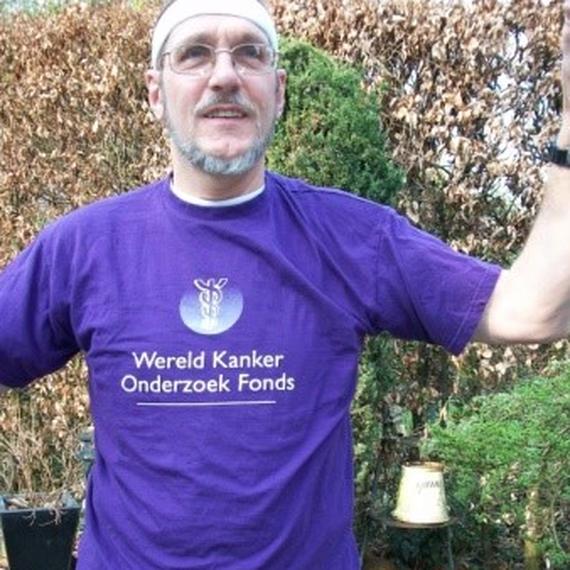 Ton Brouwer helpt mee! Kom, doe ook mee om kanker te bestrijden!!