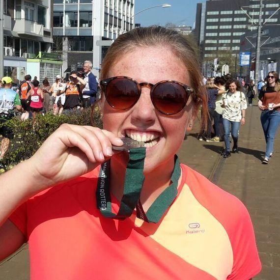 1/4 marathon voor het kankerfonds