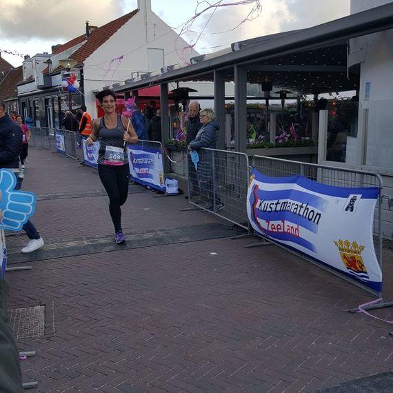 Mijn 1/4 marathon voor stichting WKOF