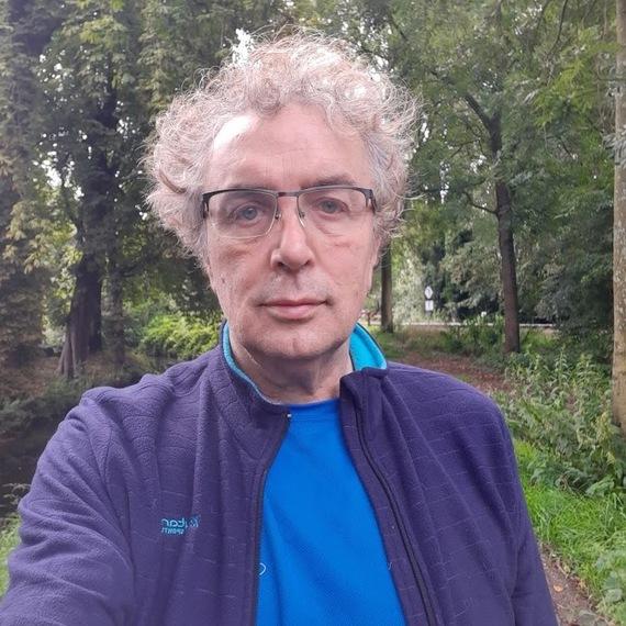 Robert rent Dam tot Dam #inactietegenkanker